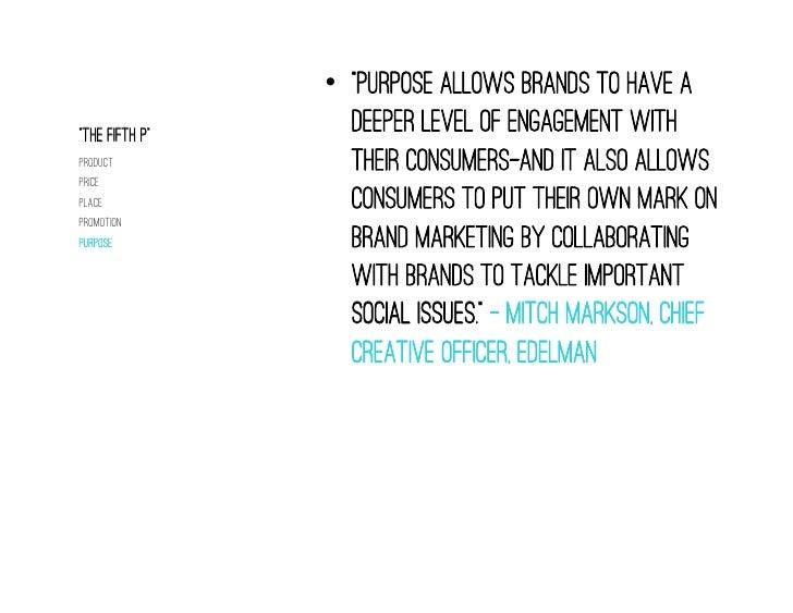Social Purpose Requires A Framework                                  •Social Media Manager                       Entity  ...