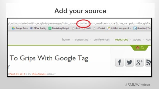 Add your source #SMMWebinar
