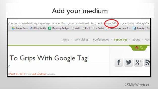 Add your medium #SMMWebinar