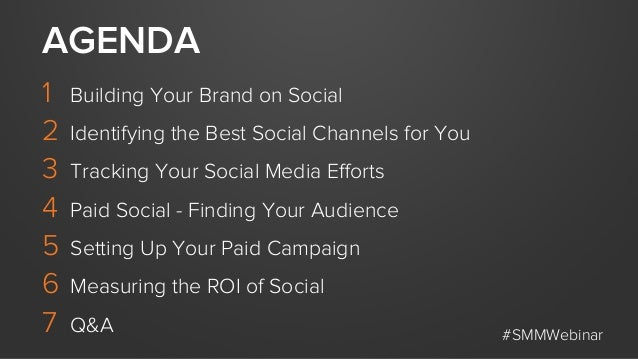 1 Building Your Brand on Social 2 Identifying the Best Social Channels for You 3 Tracking Your Social Media Efforts 4 P...