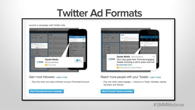 #SMMWebinar Twitter Ad Formats