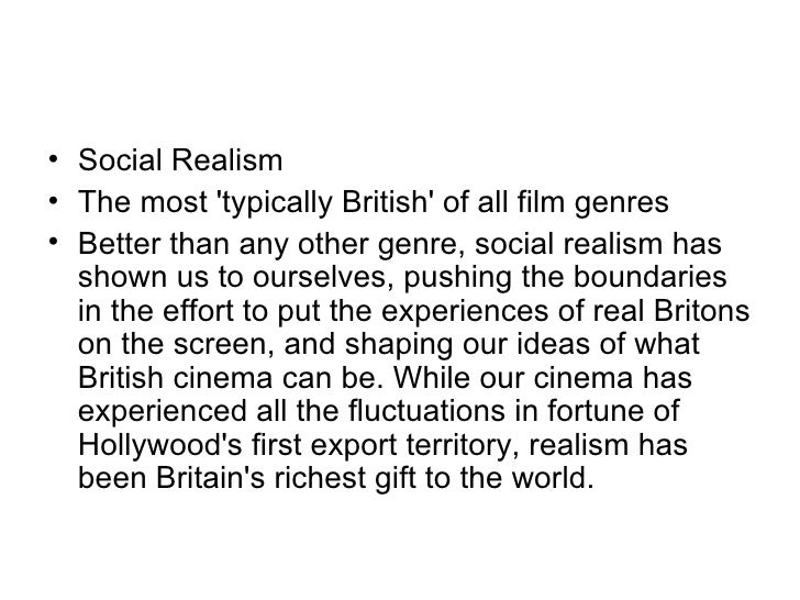 american realm and social realism film Realism in film courses  2012 spring  british social realism of the 1980s  american indies since 2002 and romanian social realism since 2005.
