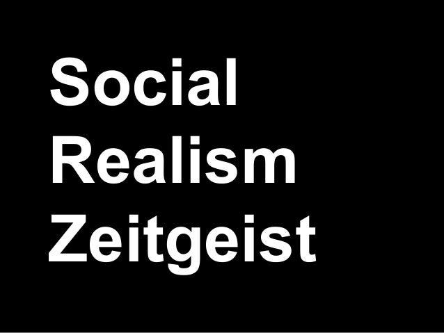 SocialRealismZeitgeist