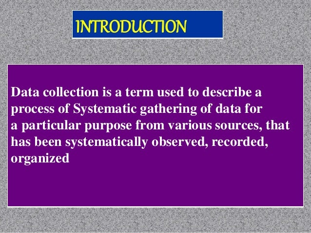 To obtain information To keep on record To make decisions about important issues, To pass information on to others Fo...