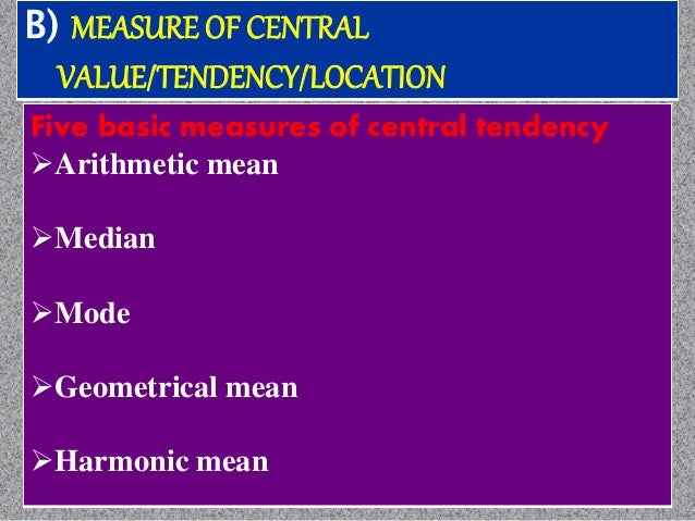 Median: Is the value which is located in the middle of a series when the observation are arranged in order of magnitude If...