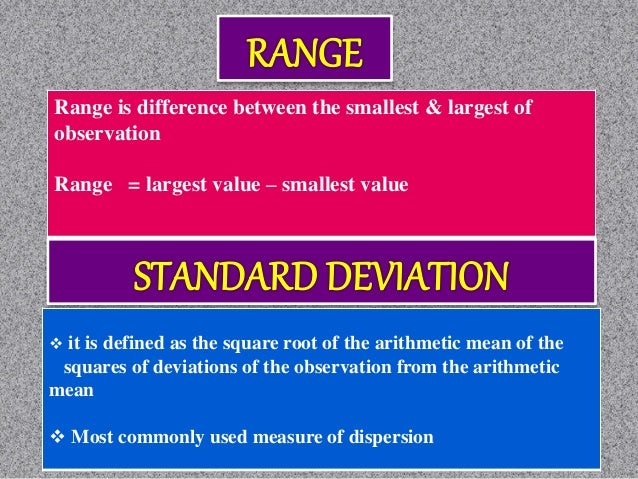 Quartile Deviation:  It is based on the lower quartile Q1 and the upper quartile Q3.  The difference Q3−Q1 is called the...