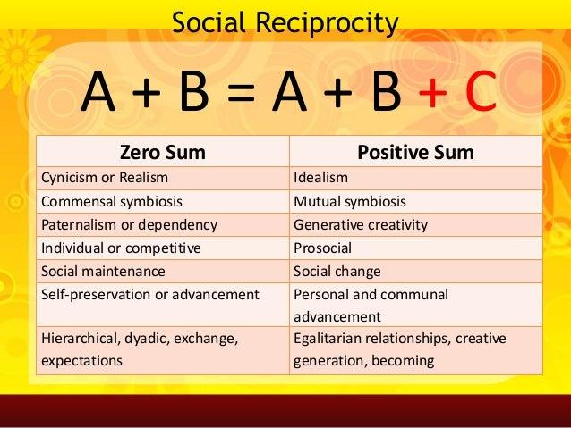 social reciprocity