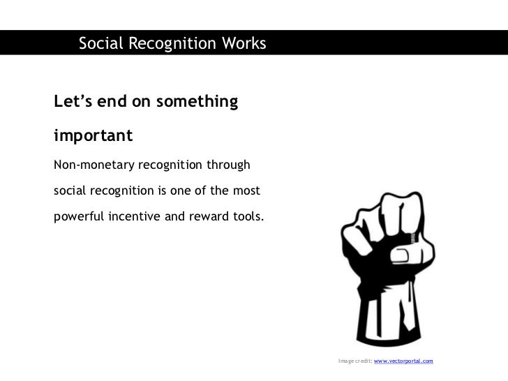 Social Recognition Works