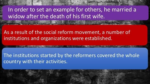 reform examples