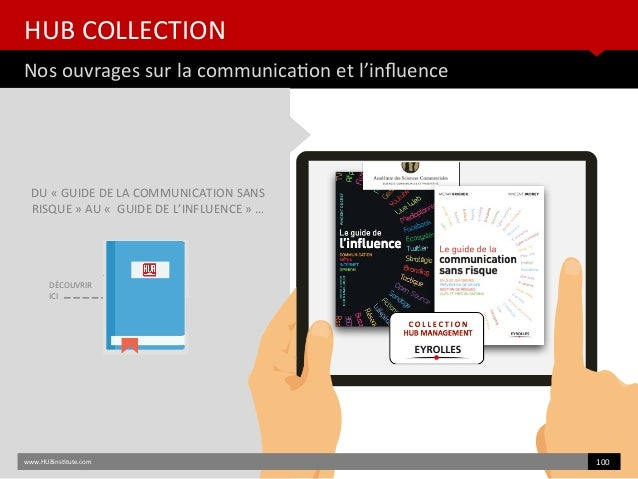 HUB COLLECTION Nos ouvrages sur la communicaton et l'infuence www.HUBinsttute.com 100 DU « GUIDE DE LA COMMUNICATION SANS ...