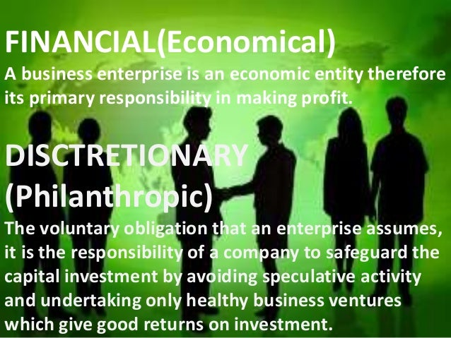 IMPORTANCE OF SOCIAL RESPONSIBILITIES • Best interest of business to promote and improve the communities • Improves public...