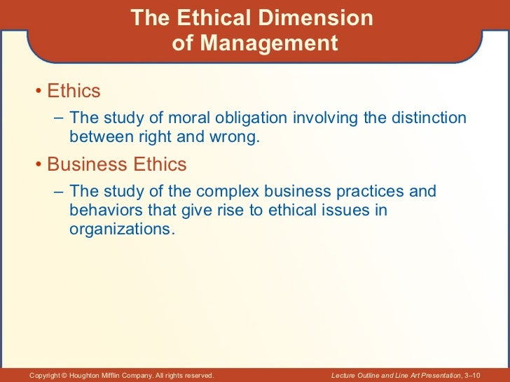 Ethical dimensions of communication