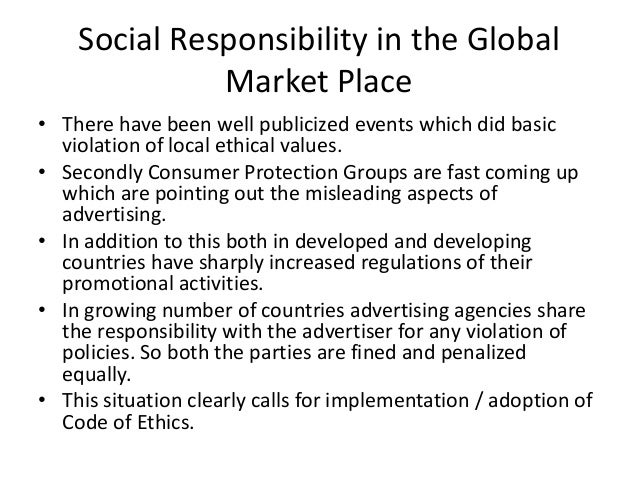 Business Ethics in a Global Market