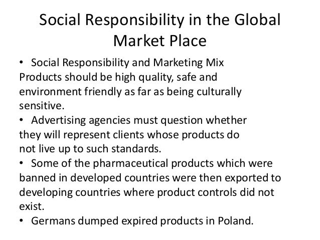 "social responsibility and market failure A market failures approach to milton friedman's classic article ""the social responsibility of business is to profit-maximization is an."