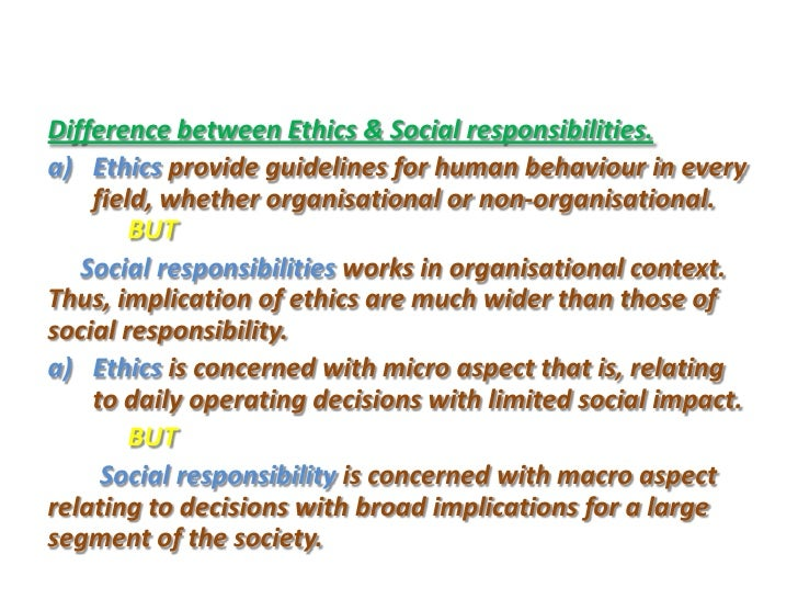 emergence of ethics and corporate social responsibility A history of business ethics and although some representatives of corporate social responsibility claim what did the development of business ethics as an.