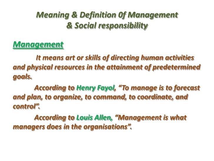 individual social responsibility