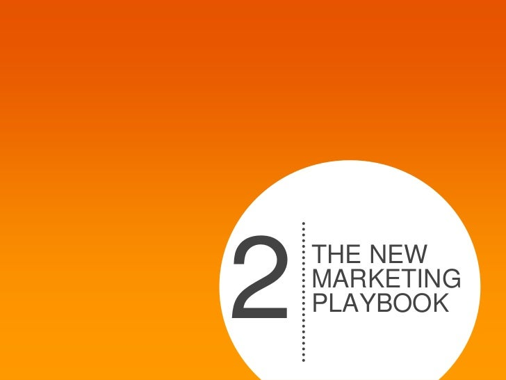 2   THE NEW    MARKETING    PLAYBOOK