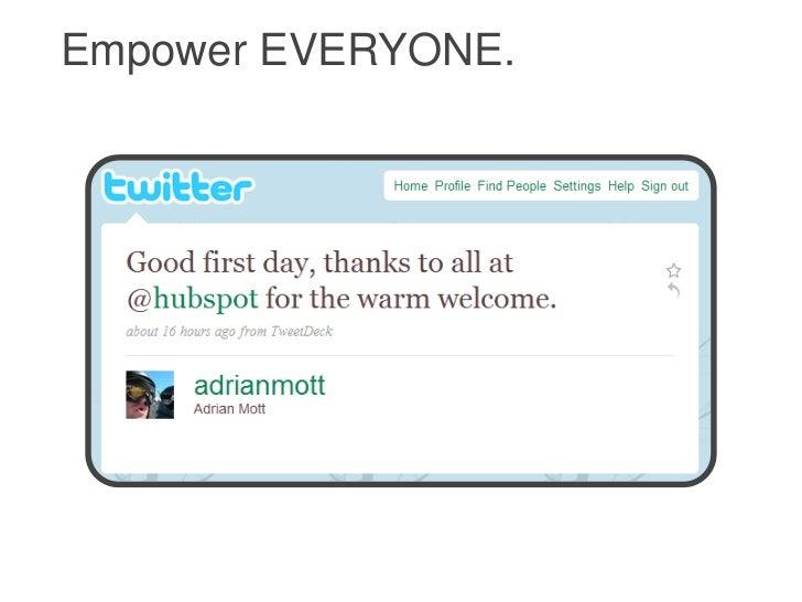 Empower EVERYONE.