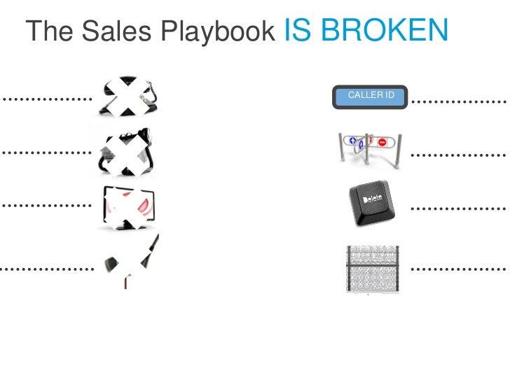 The Sales Playbook IS BROKEN                     CALLER ID