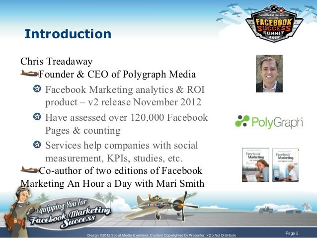 The Path to Social ROI - Facebook Marketing Success Summit 2012 Slide 2
