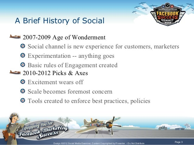 The Path to Social ROI - Facebook Marketing Success Summit 2012 Slide 3