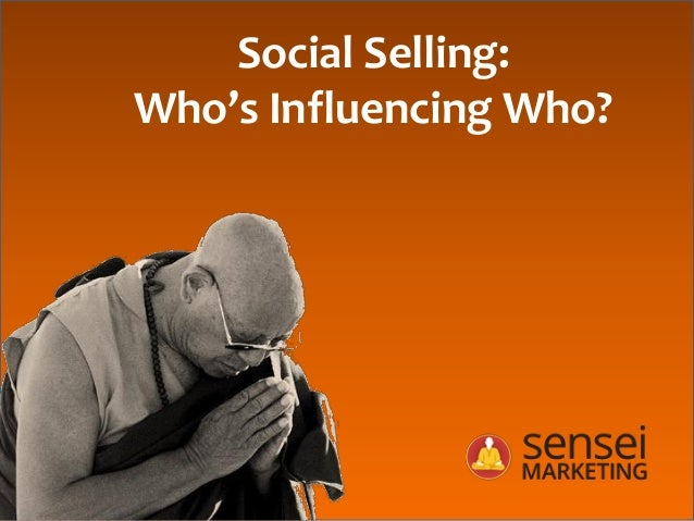 Social Selling: Who's Influencing Who?