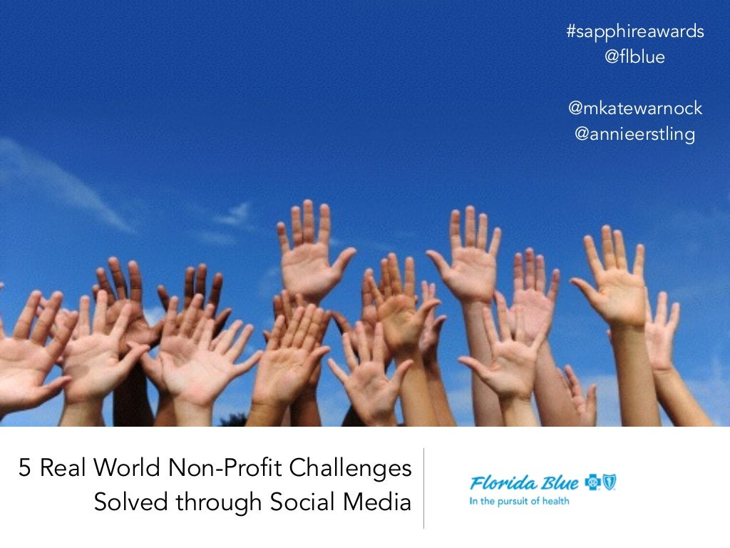 5 Real World Non-Profit Challenges Solved through Social Media
