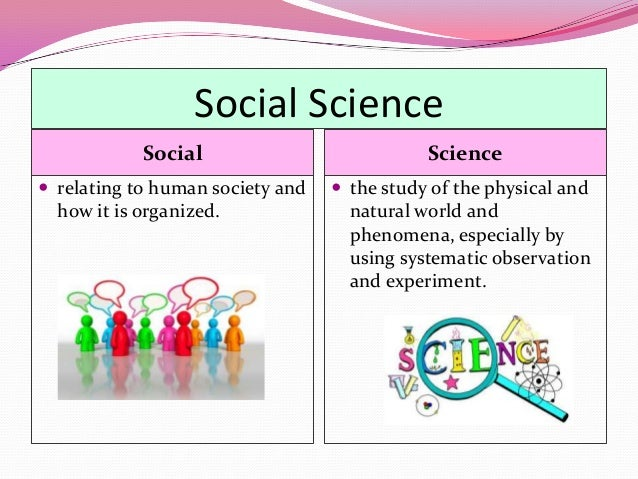 Psychology Natural Science Vs Social Science