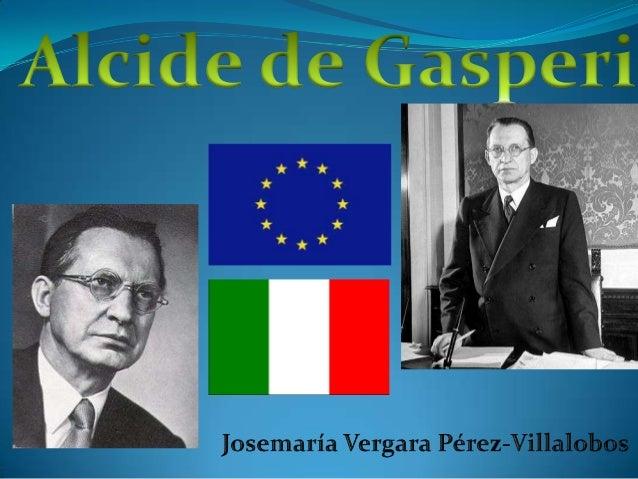 Alcide De Gasperi (3 April 1881 – 19 August 1954) was an Italian statesman andpolitician and founder of the Christian Demo...