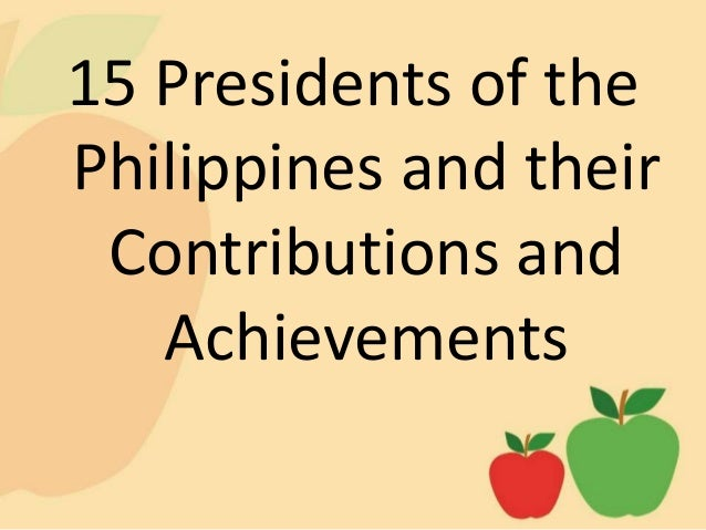 List of Presidents of the Philippines