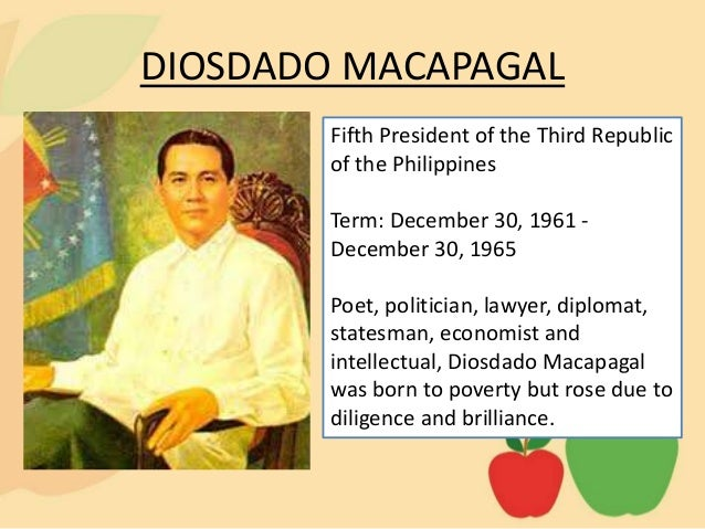 program of diosdado macapagal Pampanga provincial mental health program first in  it is based in the diosdado macapagal memorial  the patient is referred to the program for continued.