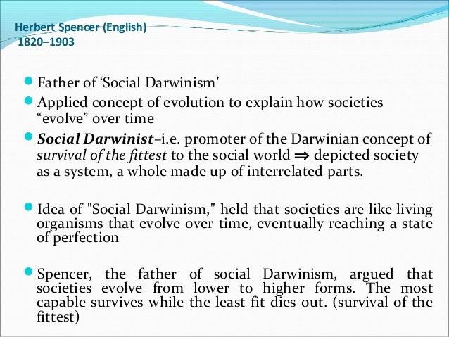 herbert spencer social evolution