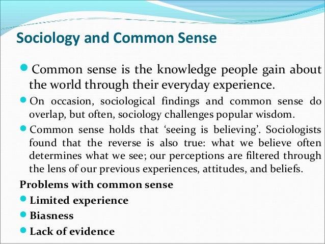 Sociology ...