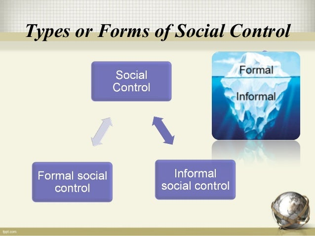 social control A notable feature of its analysis is the argument that the physician is an agent of  social control in relation to the patient this argument grounds the application to.