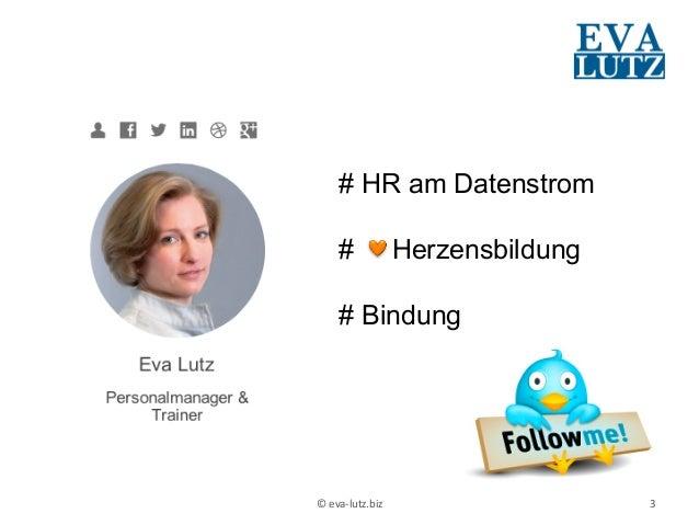 """""""Schulterblick und Du machst klick"""" Impulsvortrag zum Social Recruiting Slide 3"""