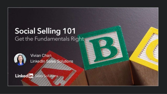 Vivian Chan LinkedIn Sales Solutions
