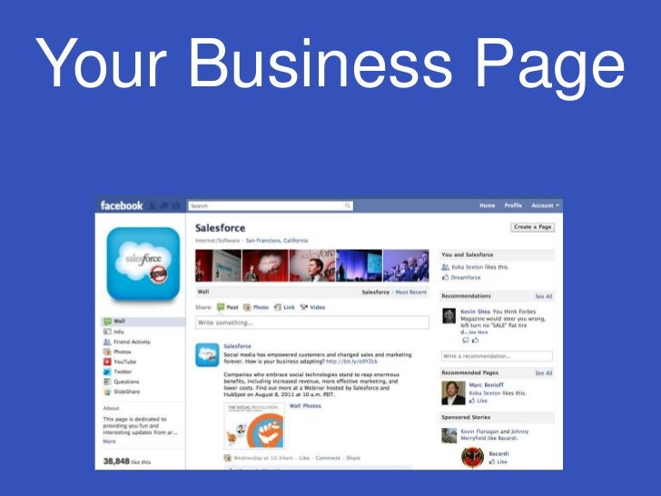 Your Business Page<br />