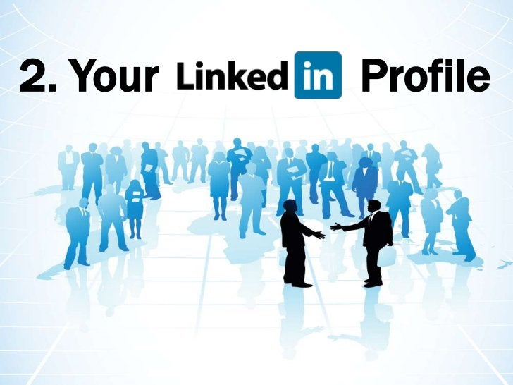 2. Your      Profile<br />