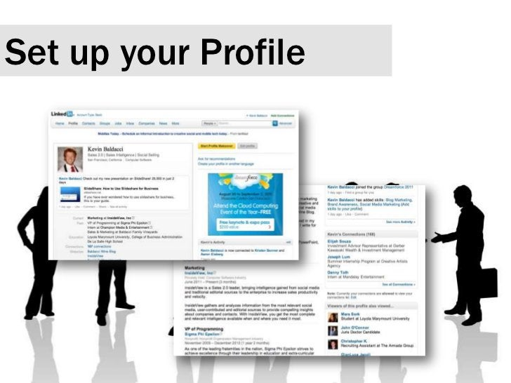 Set up your Profile<br />