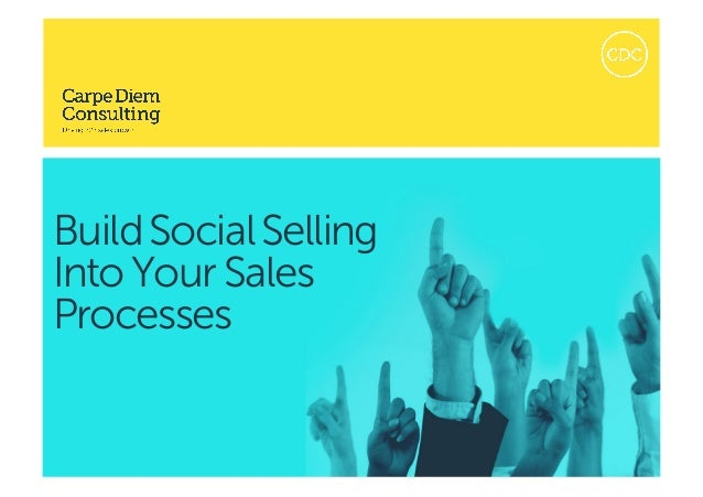1 Build Social Selling Into Your Sales Process | Copyright © 2015 Bruce IanRasmussen. This document remains the propertyof...