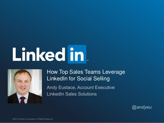 Social selling in regulated environments; Discover how social selling is generating warm leads for the financial services sector Slide 2