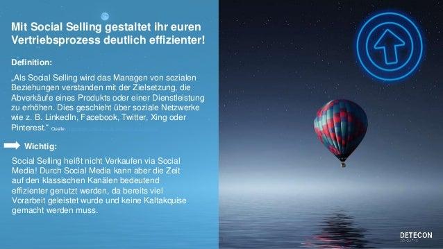 Social Selling im B2B Slide 3