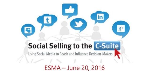 ESMA – June 20, 2016