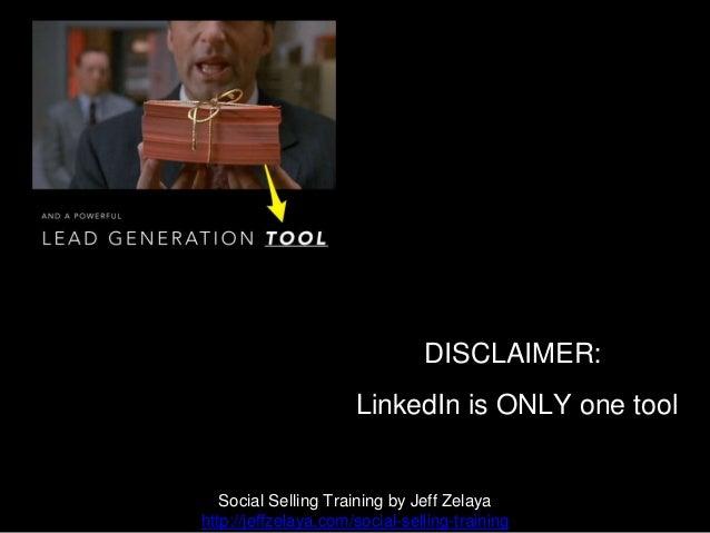 One Tool Isn't Enough Social Selling Training by Jeff Zelaya http://jeffzelaya.com/social-selling-training