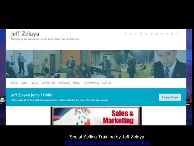 What if? Social Selling Training by Jeff Zelaya http://jeffzelaya.com/social-selling-training