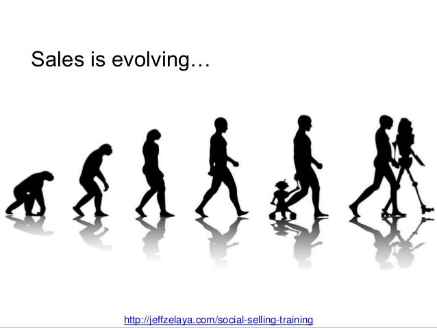 Sales is evolving… Social Selling Training by Jeff Zelaya http://jeffzelaya.com/social-selling-training