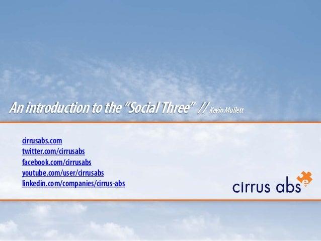 cirrusabs.com twitter.com/cirrusabs facebook.com/cirrusabs youtube.com/user/cirrusabs linkedin.com/companies/cirrus-abs An...