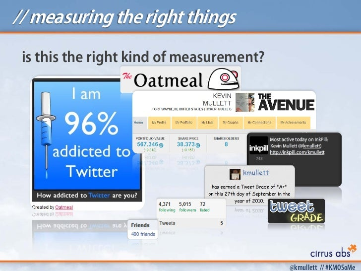 // measuring the right things is this the right kind of measurement?                                          @kmullett //...