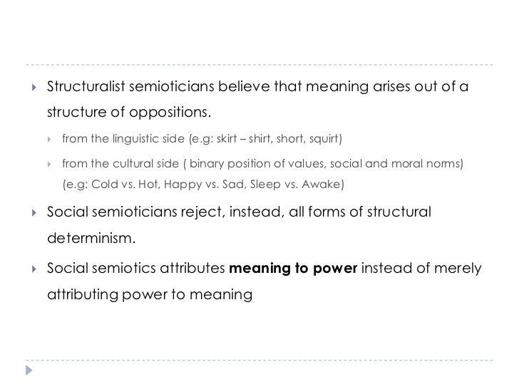 social semiotics <br > 11