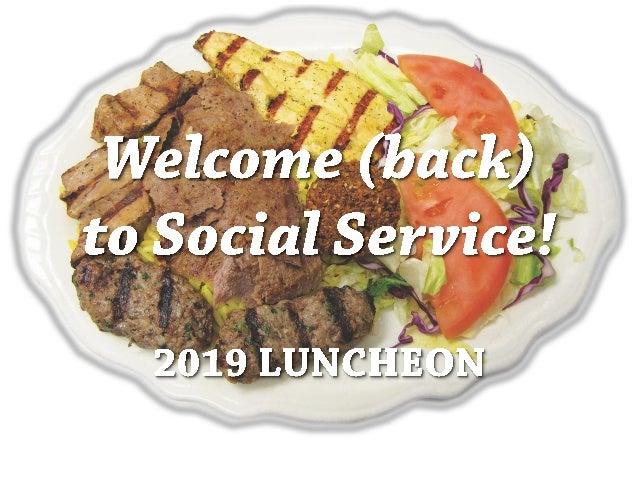 Social Service Sponsors 2019